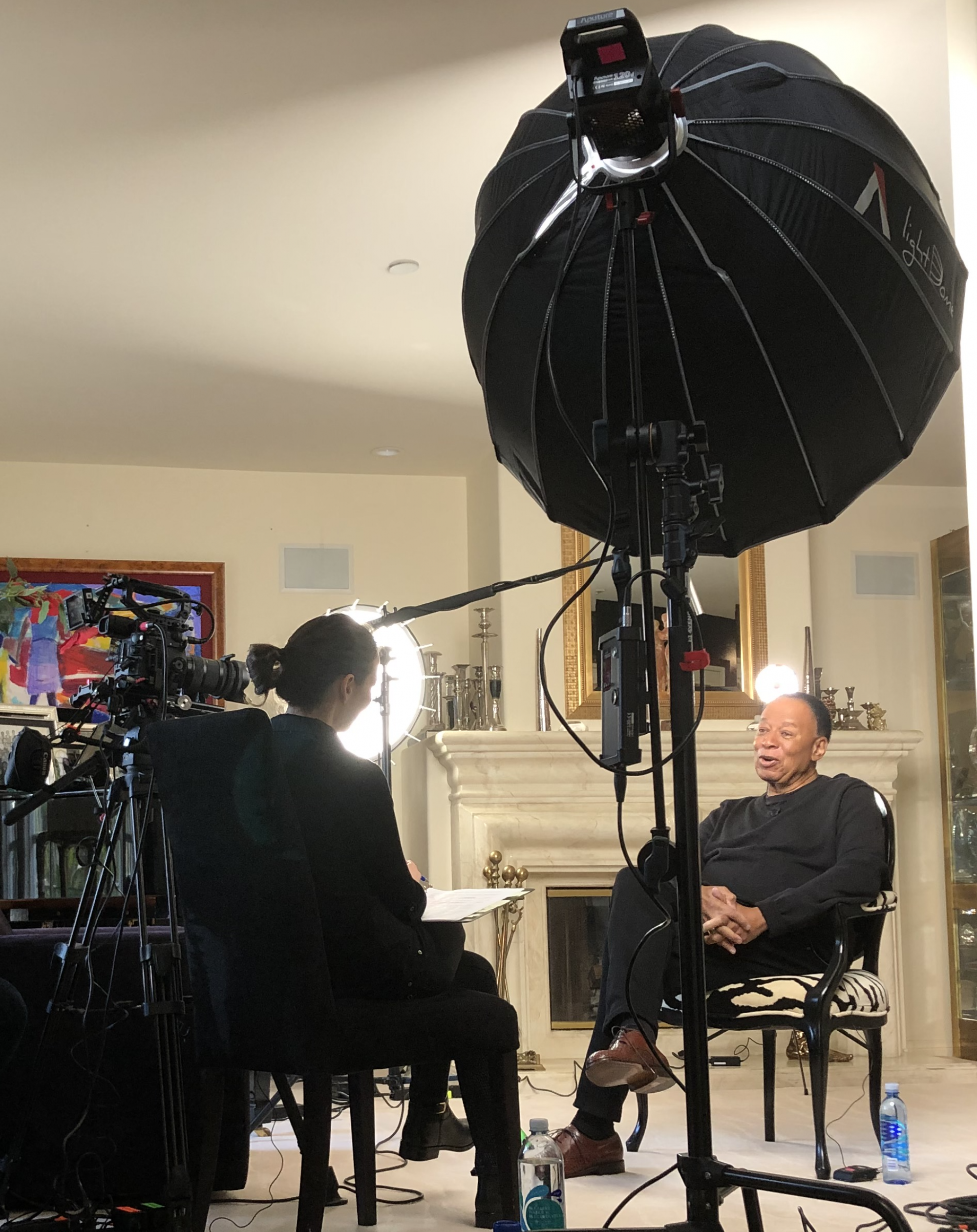 Adrienne Faillace interviews Charles Floyd Johnson