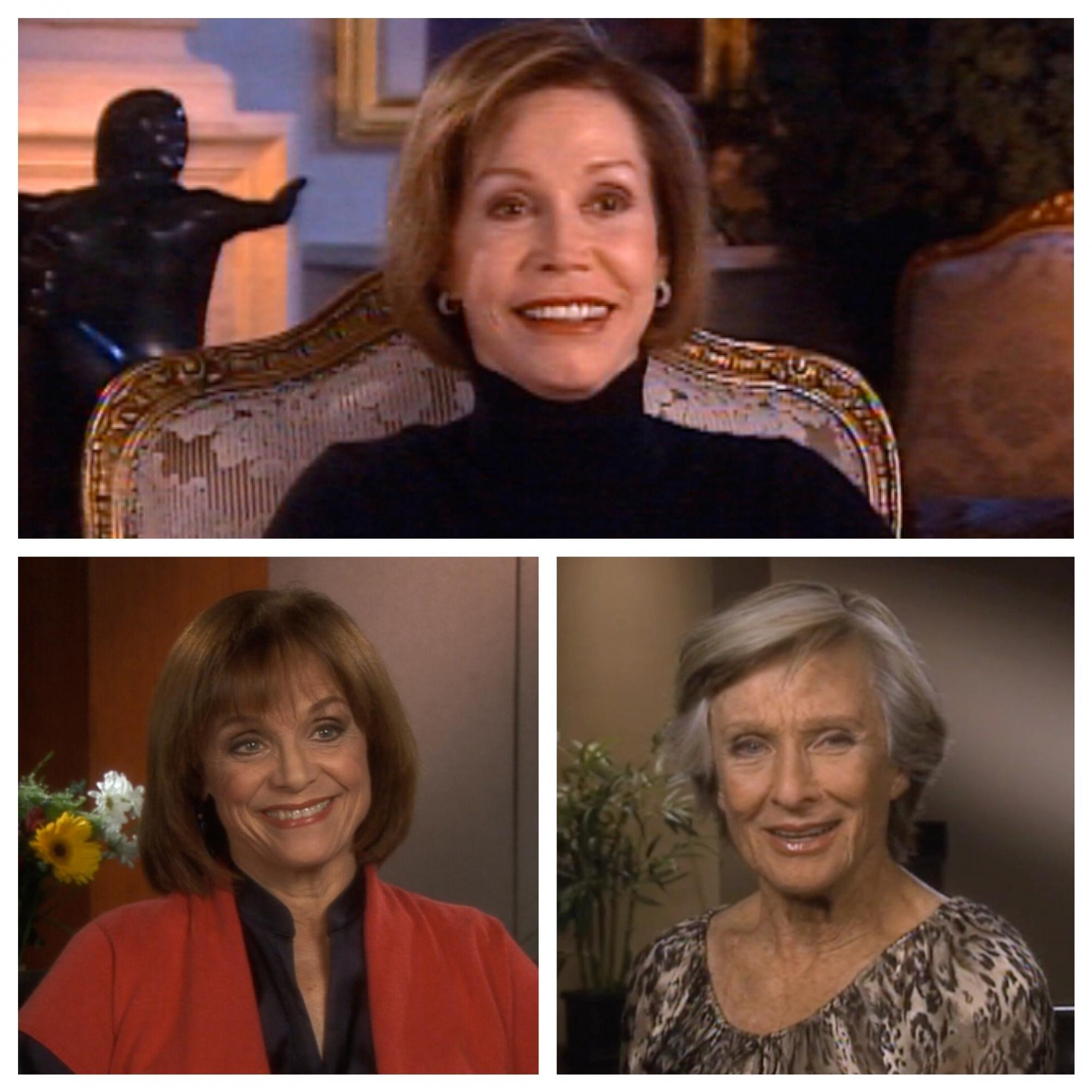 Mary Tyler Moore, Valerie Harper, Cloris Leachman