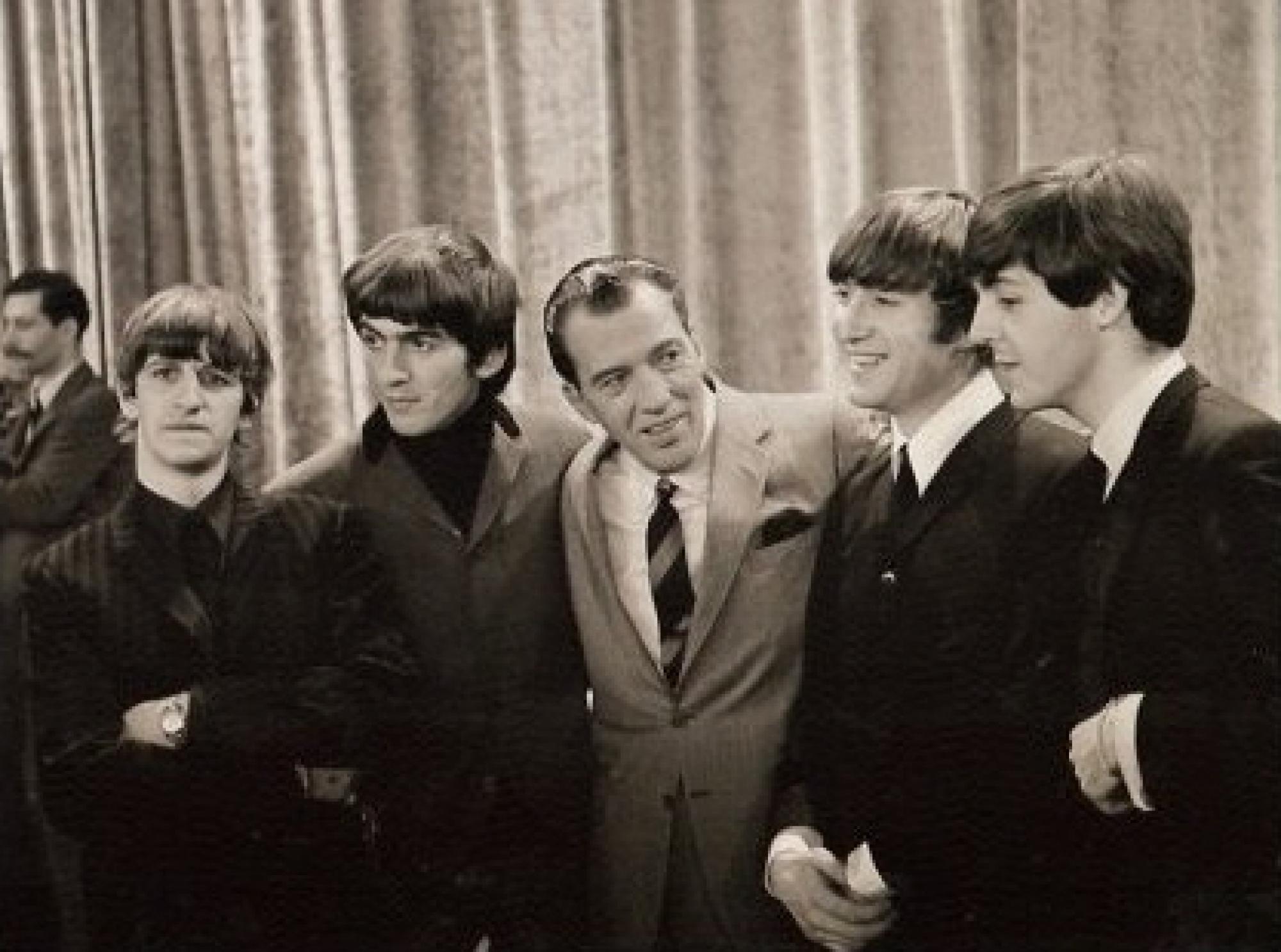 The Beatles with Ed Sullivan