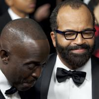 Michael Kenneth Williams and Jeffrey Wright, 2017