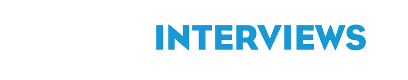 The Interviews logo